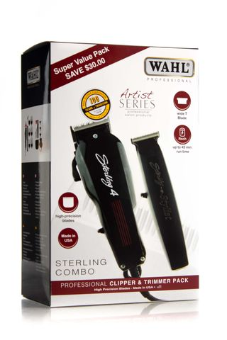 WAHL STERLING 4 & STYLIST COMBO PACK*