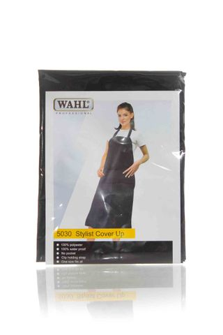 WAHL POLYESTER APRON WITH STRAP BLACK