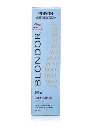WELLA BLONDOR SOFT BLONDE CREAM 200G