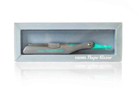 FEATHER NAPE RAZOR W/MICROGUARD BLADE