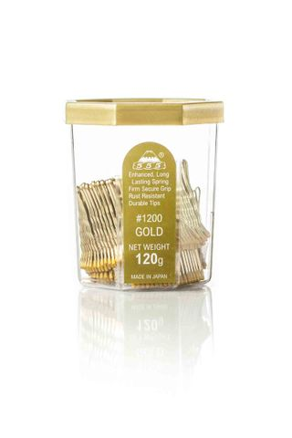 AMW SMALL BOBBY PINS 1.5 - 555 - GOLD