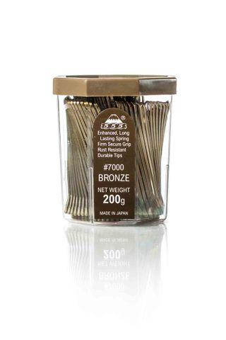 AMW JUMBO BOBBY PINS 3 - 555 - BRONZE