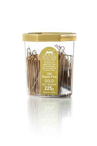 ONI RIPPLE PINS 2 250GM TUB - GOLD