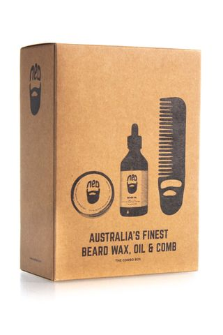 NED VANILLA WAX, LAVEND OIL, COMB TRIO