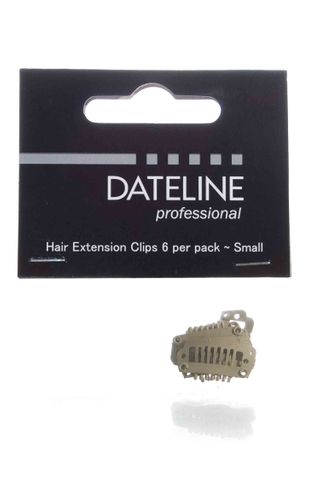 DATELINE SPARE CLIPS BLONDE PKT 6 SMALL