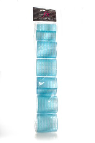 HAIR FX MAGIC GRIP ROLLERS 6PKT 53MM