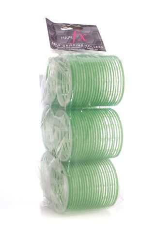 HAIR FX MAGIC GRIP ROLLERS 6PKT 60MM