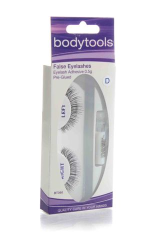 BODY TOOLS EYELASHES W/GLUE D