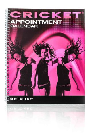 CRICKET 4 COLUMN APPOINTMENT BOOK -130PG