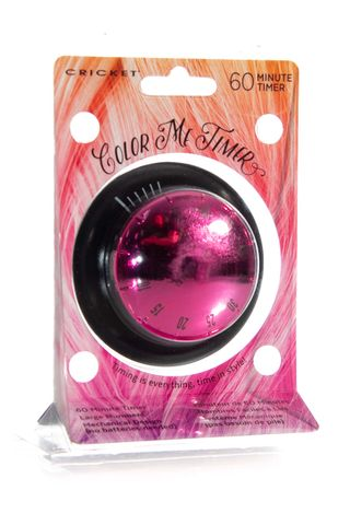 CRICKET COLOUR ME TIMER - PINK