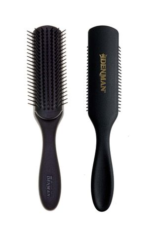 DENMAN D3M 7 ROW GENTS STYLING BRUSH BLK
