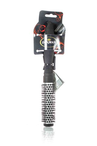DENMAN DSQ1 SQUARE BRUSH SILVER