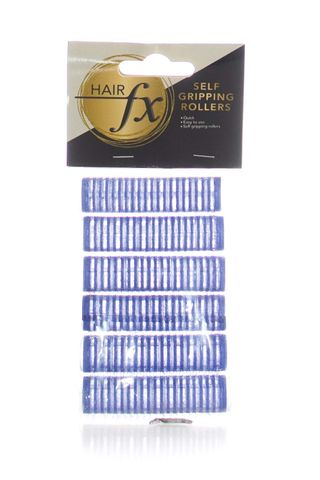HAIR FX MAGIC GRIP ROLLERS 6PKT 15MM