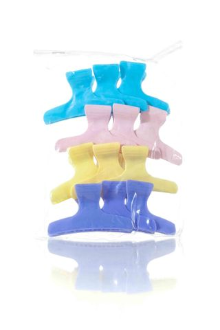 DTL BUTTERFLY CLAMPS LARGE COLOURED