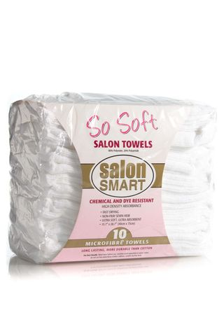 SO SOFT 10pk MICROFIBRE TOWELS WHITE