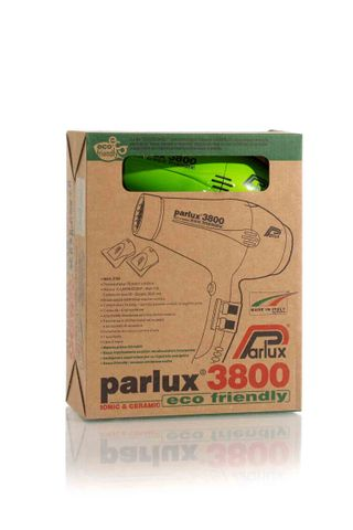 PARLUX 3800 CERAMIC&IONIC DRYER GREEN