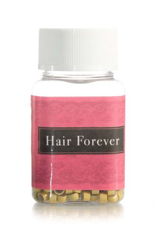 HAIR FOREVER SILICONE BLONDE BEADS 500PK