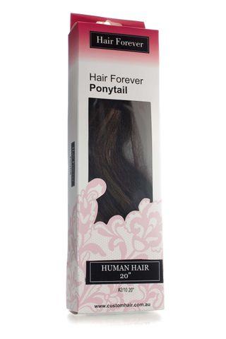HAIR FOREVER HUMAN HAIR PONY TAIL #2/10