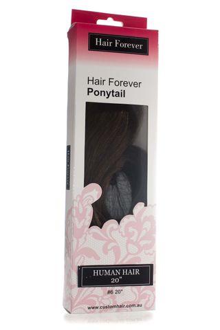 HAIR FOREVER HUMAN HAIR PONY TAIL #6