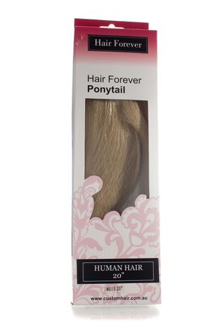 HAIR FOREVER HUMAN HAIR PONY TAIL #613