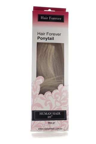HAIR FOREVER HUMAN HAIR PONY TAIL #60A