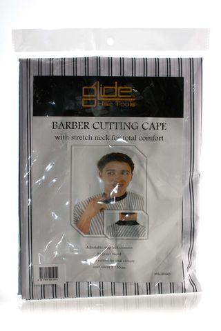 GLIDE BARBER CUTTING CAPE STRETCH NECK