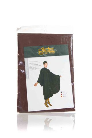 GLIDE STAIN PROOF BROWN CAPE