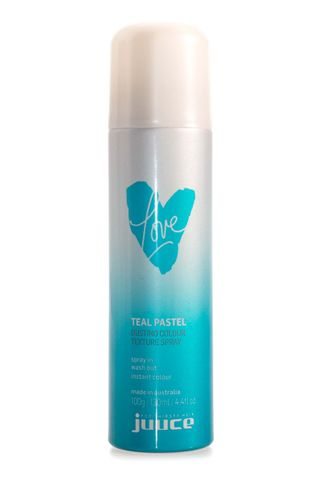 JUUCE DUSTING COL TEXT SPRAY TEAL