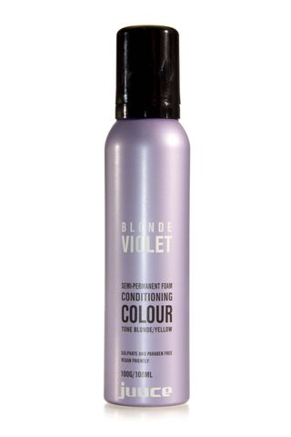 JUUCE BLONDE VIOLET SEMI MOUSSE 100G