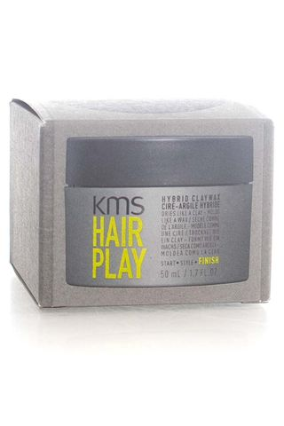 KMS HAIRPLAY HYBRID CLAY WAX 50ML