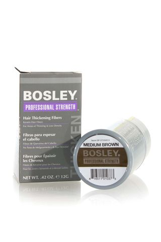 BOSLEY HAIR THICK FIBERS MED BROWN