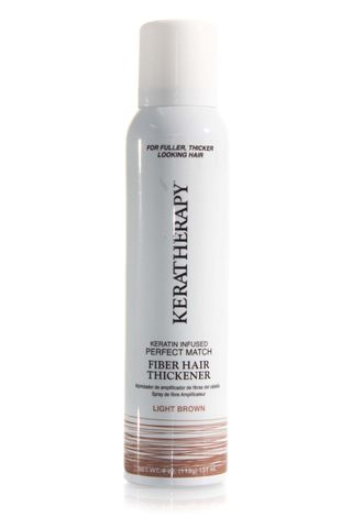 KERATHERAPY FIBER THICK SPRAY LT BROWN