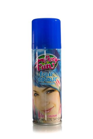 PARTY FUN COLOURED SPRAY BLUE