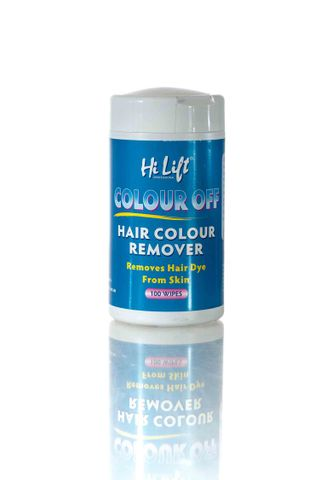 HILIFT COLOUR OFF WIPES TUB