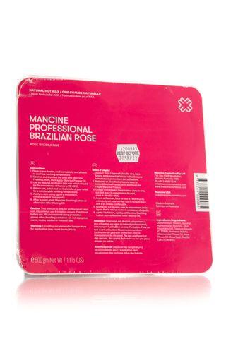 MANCINE BRAZILIAN ROSE XXX HOT WAX 500G