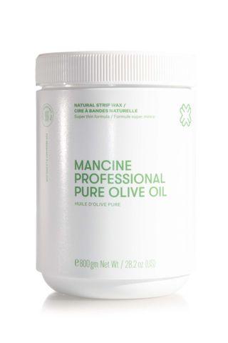 MANCINE PURE OLIVE OIL STRIP WAX 800G