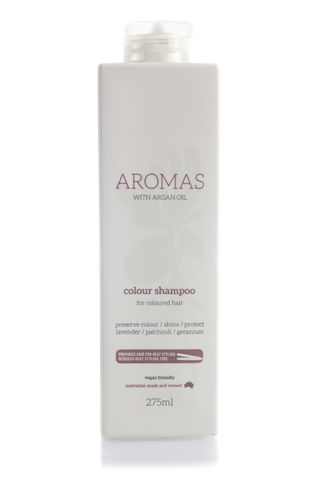 NAK AROMAS COLOUR SHAMP ARGAN OIL 275ML