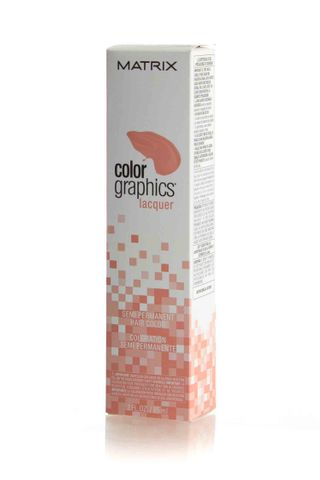 MATRIX COLOR GRAPH LACQUER LT PEACH*