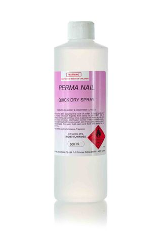 PERMA NAIL QUICK DRY SPRAY 500ML