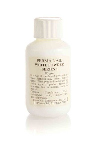 PERMA NAIL POWDER 85G WHITE