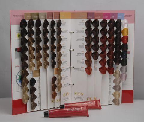 GKMBJ Colour Chart Deluxe Full Chart