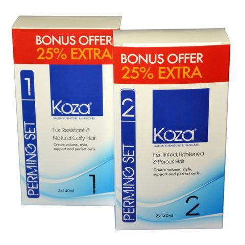 Koza Perming Set 1 (2 x 140ml)