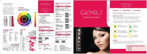 GKMBJ Colour Collection Chart Brochure