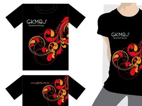 GKMBJ T Shirt Black Medium