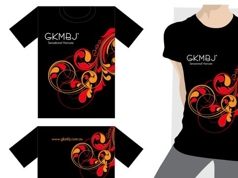 GKMBJ T Shirt Black Large