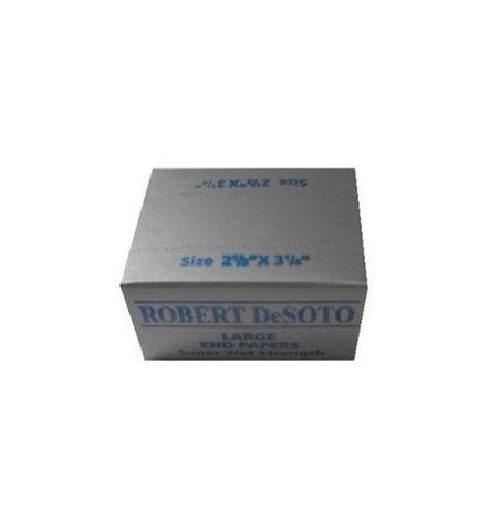 Desoto Perm Paper 2.5 X 3.1/4 D/Grey Box