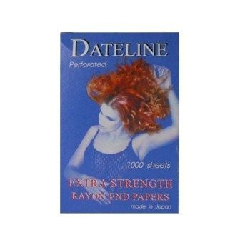 Dateline Perforated Rayon End Papers