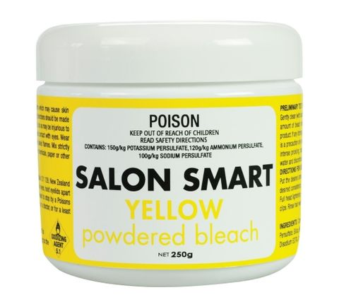 Salon Smart Yellow Coloured Bleach 250g