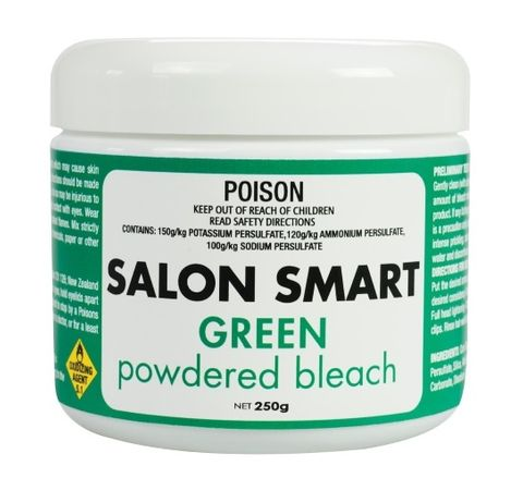 Salon Smart Green Coloured Bleach 250g