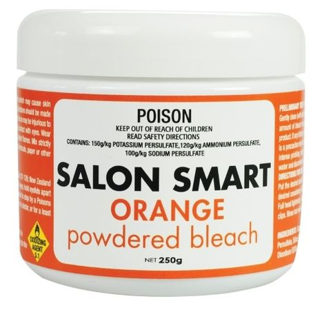 Salon Smart Orange Coloured Bleach 250g